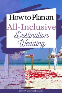 all-inclusive destination wedding